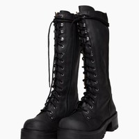 Wasteland Shoes - ShopWasteland.com - Jeffrey Campbell Radar Combat Boot