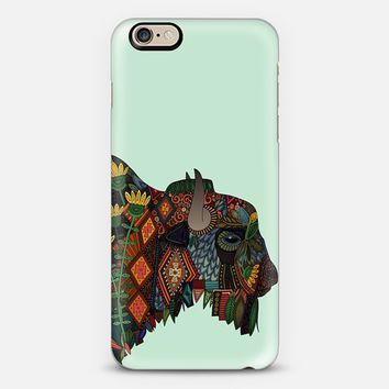 bison mint iPhone 6s case by Sharon Turner | Casetify