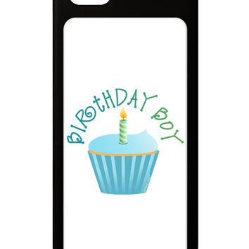 Birthday Boy - Candle Cupcake iPhone 5 / 5S Grip Case  by TooLoud