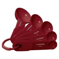 KitchenAid Measuring Spoons - Red