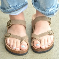 Soak It Up Sandal - Taupe