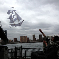 Art of Manliness Women's Holiday Shop 2013 | Sailing Ship Kite (White)