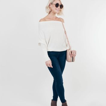 Touch of Sophistication Top in Ivory