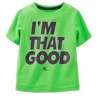 Carter's ''I'm That Good'' Athletic Tee - Toddler Boy