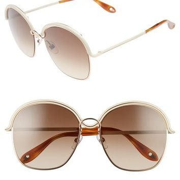 Givenchy 7030/S 58mm Oversized Sunglasses | Nordstrom