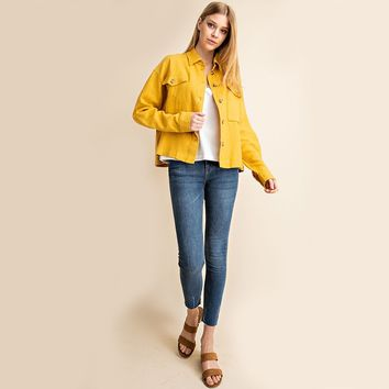 Buddy Cropped Chore Coat