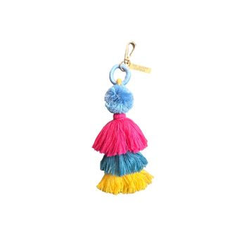 THE UNICORN TASSEL BAG CHARM