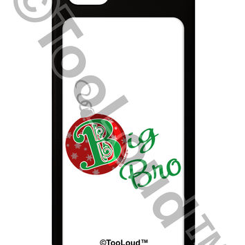 Matching Family Ornament Big Bro iPhone 5 / 5S Grip Case
