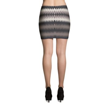 Aztec Mini Skirt - MC 3C