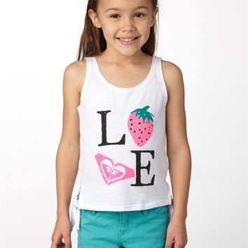 Roxy - Girls 2-6 Strawberry Love Tank