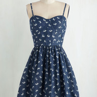 North, South, East or Westie Dress | Mod Retro Vintage Dresses | ModCloth.com