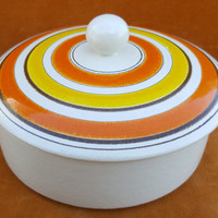 mid century Rosenthol Netter covered dish made in Italy