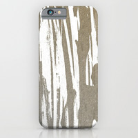 Abstract Taupe Splash Design iPhone & iPod Case by oursunnycdays