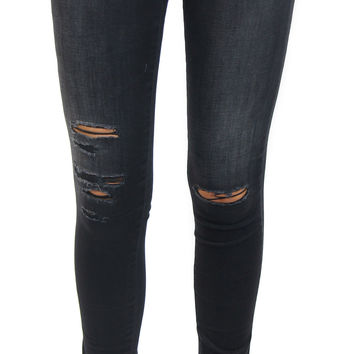 AG jeans | the legging ankle (4 years twilight shredded)
