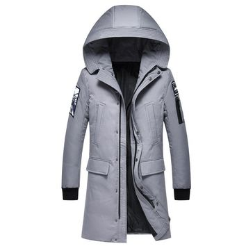 Winter Jacket Men Casual Cotton Thick Warm Coat Men's Outwear Parka Plus  Coats Windbreak Snow Military Jackets Multiple pockets