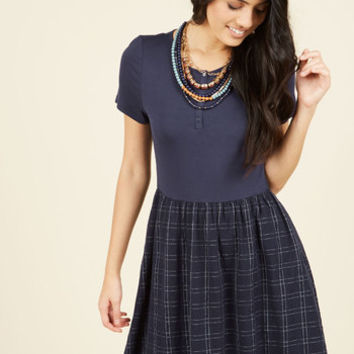 You're Gonna Hear Me Rural A-Line Dress | Mod Retro Vintage Dresses | ModCloth.com