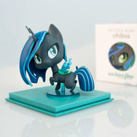 2016 We Love Fine My Little Pony CHRYSALIS Chibi Vinyl figure LIMITED Ed. NIB