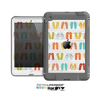 The Vintage Flip-Flops Skin for the Apple iPad Mini LifeProof Case