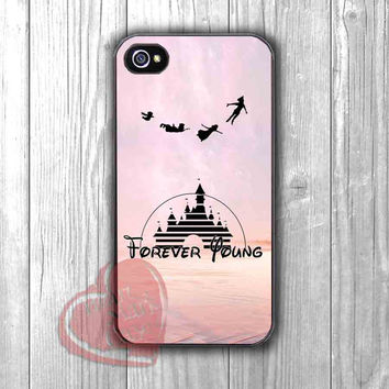 Disney Forever Young Phone Case -srw for iPhone 4/4S/5/5S/5C/6/ 6+,samsung S3/S4/S5,samsung note 3/4