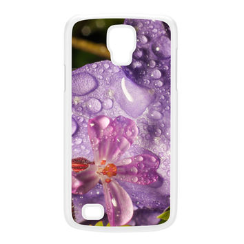 Wet Flower White Hard Plastic Case for Galaxy S4 Active by Mick Agterberg