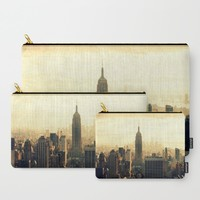 New York Carry-All Pouch by Haroulita | Society6