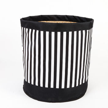 Striped Storage Clothing Thicken Stripes Storage Basket = 5892835329