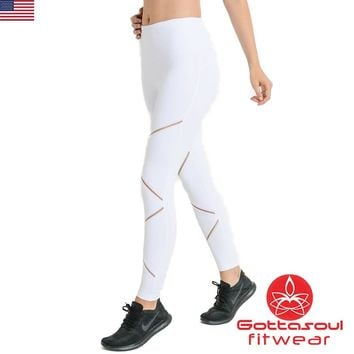 Mesh Cross Workout Leggings