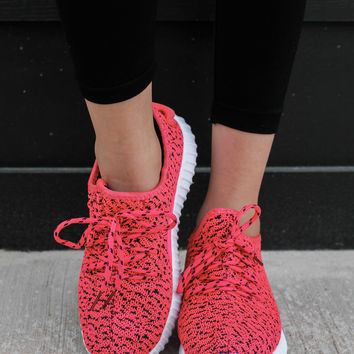 Kids Featherweight Sneakers - Hot Pink