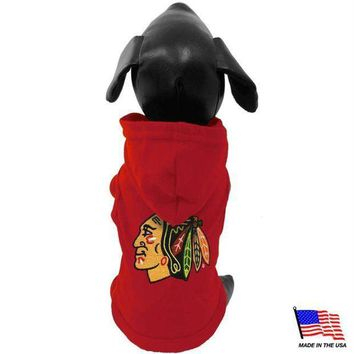 ONETOW Chicago Blackhawks Pet Hoodie