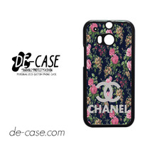 Floral Chanel 1 For HTC One M8 Case Phone Case Gift Present YO