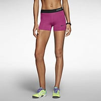 "The Nike Pro 3"" Women's Training Shorts."