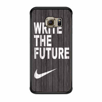 Nike Write Future Wood Samsung Galaxy S6 Edge Case