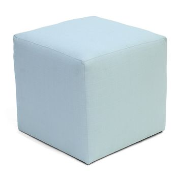 Summer Camp Cube Ottoman POOL - CLEARANCE