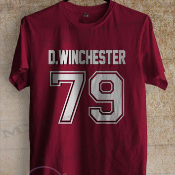 Dean Winchester shirt supernatural tshirt clothing unisex adult tee