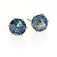 IPPOLITA - Rock Candy London Blue Topaz & 18K Yellow Gold Stud Earrings - Saks Fifth Avenue Mobile