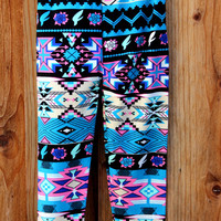 Toddler Girls Tribal Legging Pants