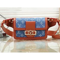 LV hot selling printed color shopping bag fashionable lady casual shoulder bag #3