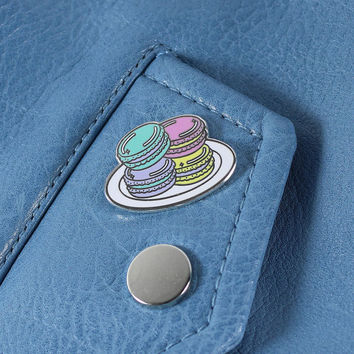 Macaron Enamel Pin // Food pin, lapel pin, hard enamel pin // EP096