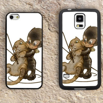 Little Catwoman cute comic iPhone Case-iPhone 5/5S Case,iPhone 4/4S Case,iPhone 5c Cases,Iphone 6 case,iPhone 6 plus cases,Samsung Galaxy S3/S4/S5-056