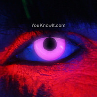 Rave / Glow Contact Lenses | EDIT Violet UV Contact Lenses (Pair)