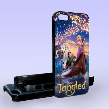 Tangled Disney - Print on Hard Cover - iPhone 5 Case - iPhone 4/4s Case - Samsung Galaxy S3 case - Samsung Galaxy S4 case