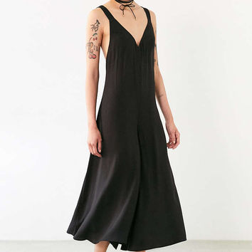Silence + Noise Sylvia Culotte Slip Jumpsuit - Urban Outfitters