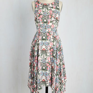 Coming and Flowing Dress | Mod Retro Vintage Dresses | ModCloth.com