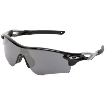 Oakley Radarlock Path Sport Sunglasses Polished Black Frame Black Iridium & VR28 Lens OO9181-19