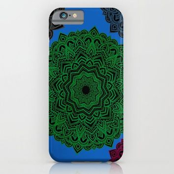 My Angel Spirit Mandhala | Secret Geometry iPhone & iPod Case by Azima