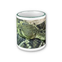 Scaly Green Snake Mug from Zazzle.com