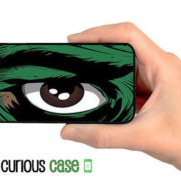iPhone 5S Case | iPhone 5 Comic Book Eye  | Hard Case For iPhone 5   Plastic or Rubber Trim