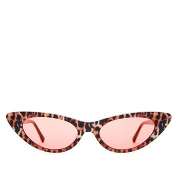 Crap Eyewear - The Ultra Jungle - Leopard / Cherry Red CR-39