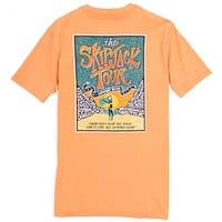 The Skipjack Tour Tee-Shirt in Horizon Orange by Southern Tide - FINAL SALE