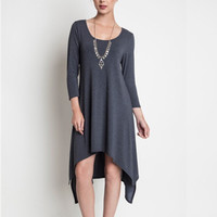 Gray Autumn Spice Dress
